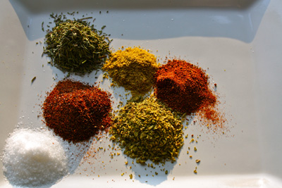 Spices for Chipotle Spiced Oxtails