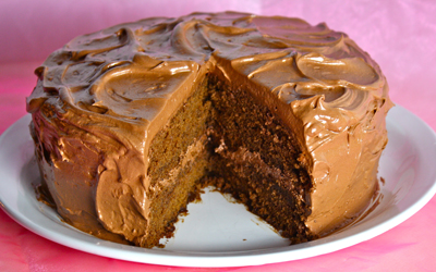 Chocolate Ale Layer Cake
