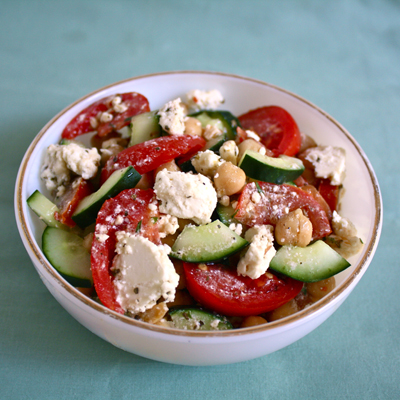 tomato feta cheese salad