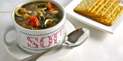 Sausage and Kale Stew