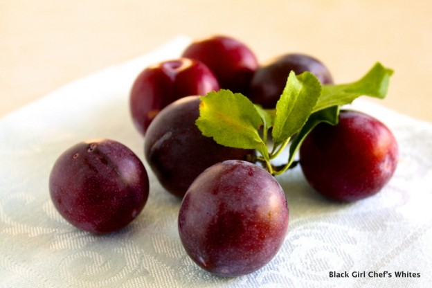Wordless Wednesday | Organic Summer Plums