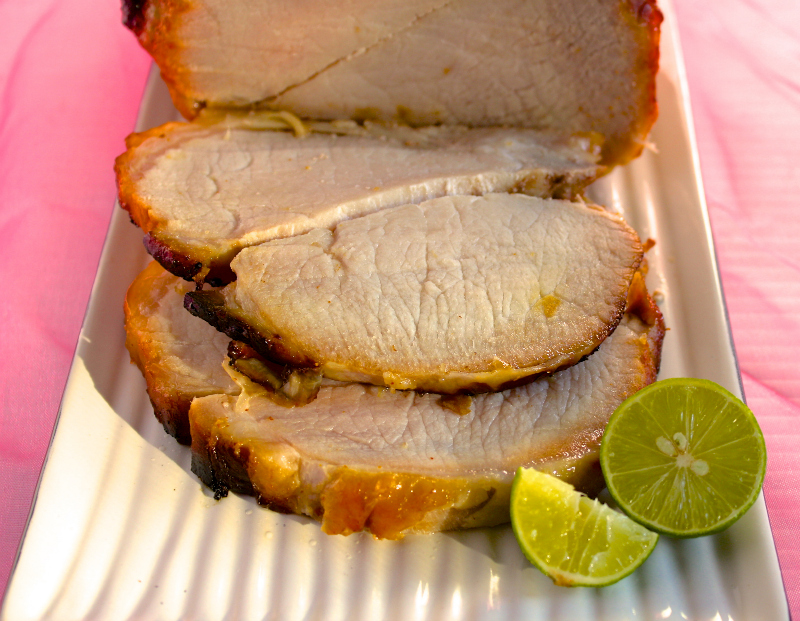 Honey-Chile-Lime Pork Roast  | Black Girl Chef's Whites