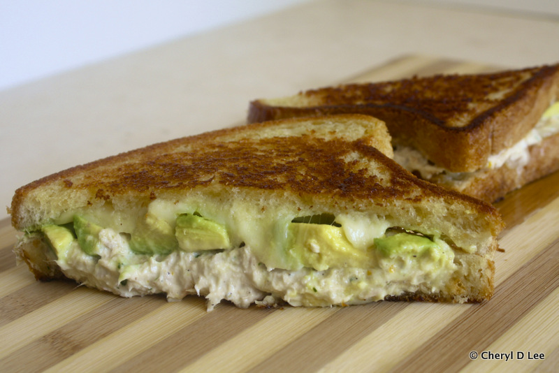 Lemon-Tarragon Tuna Melt with Provolone | Black Girl Chef's Whites
