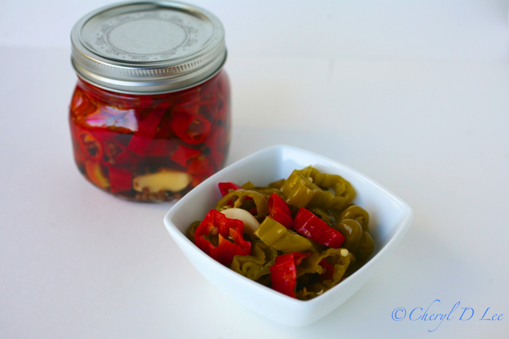 Pickled Shishito Peppers