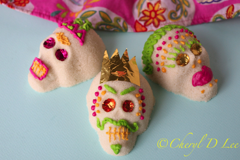 Dia de los Muertos Sugar Skulls | Black Girl Chef's Whites