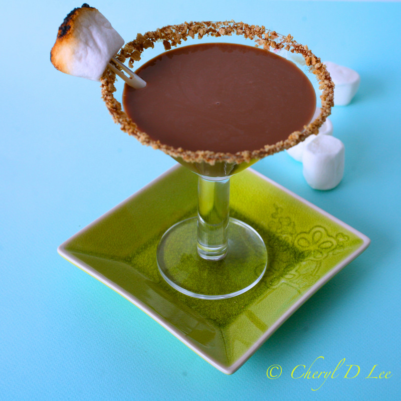 S'Mores Martini | Black Girl Chef's Whites