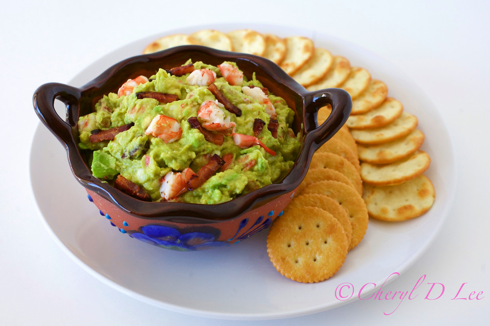 Bacon Shrimp Avocado Dip