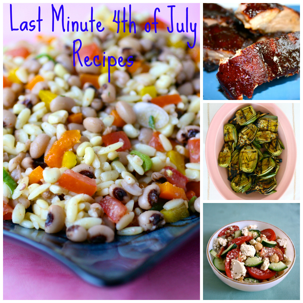 5 Last Minute 4th of July Recipes