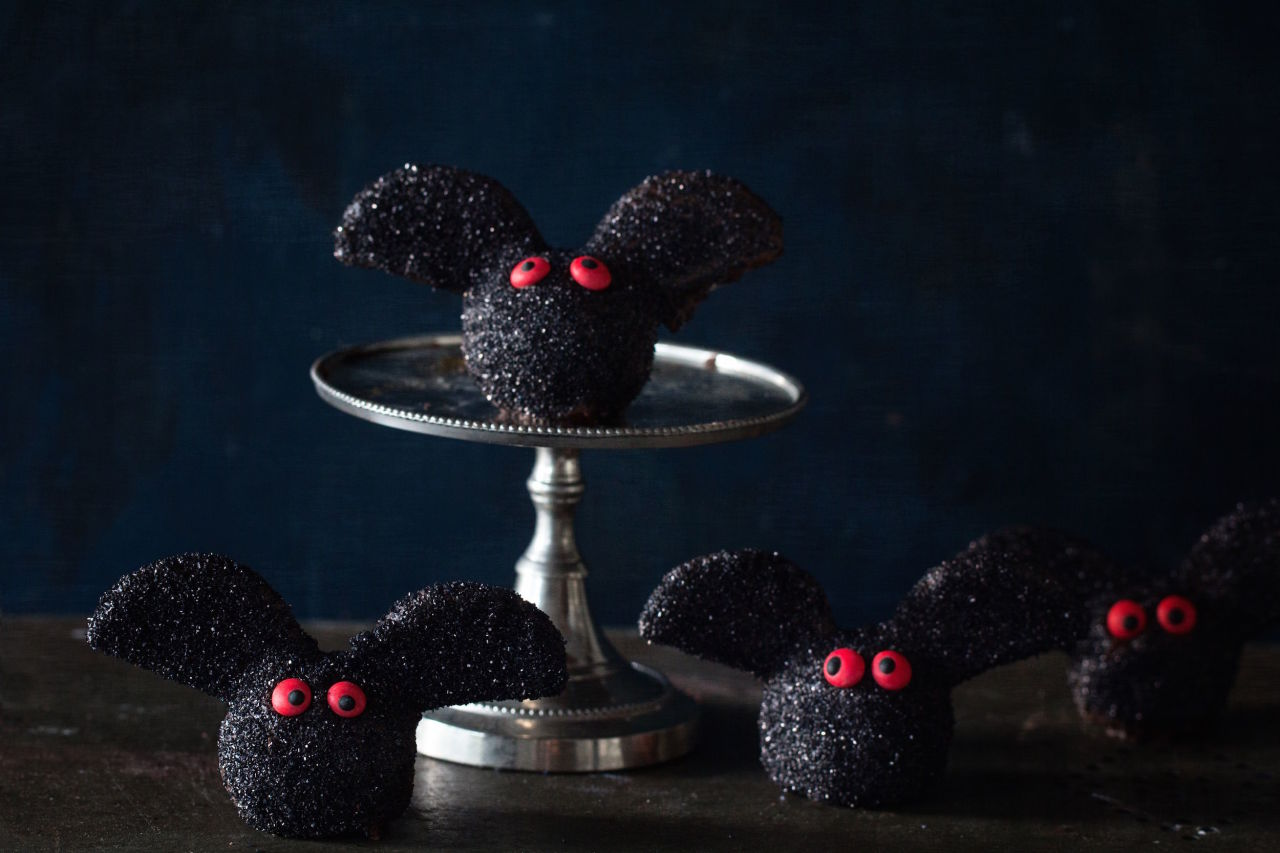 Bat Truffles found on Delish.com