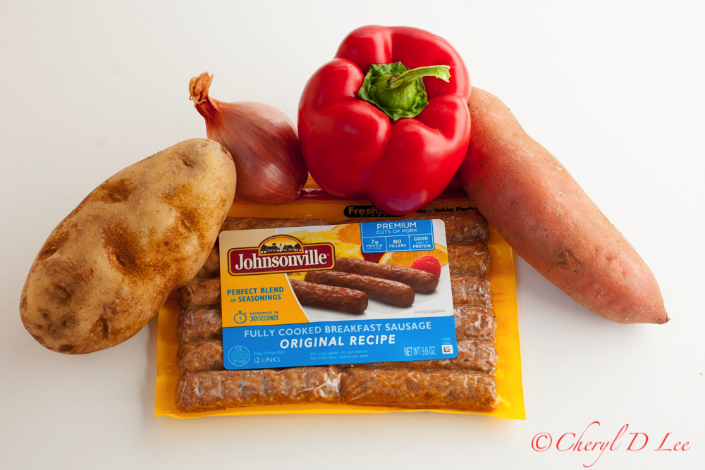 Johnsonville Breakfast Sausage and Home Fries Casserole Ingredients